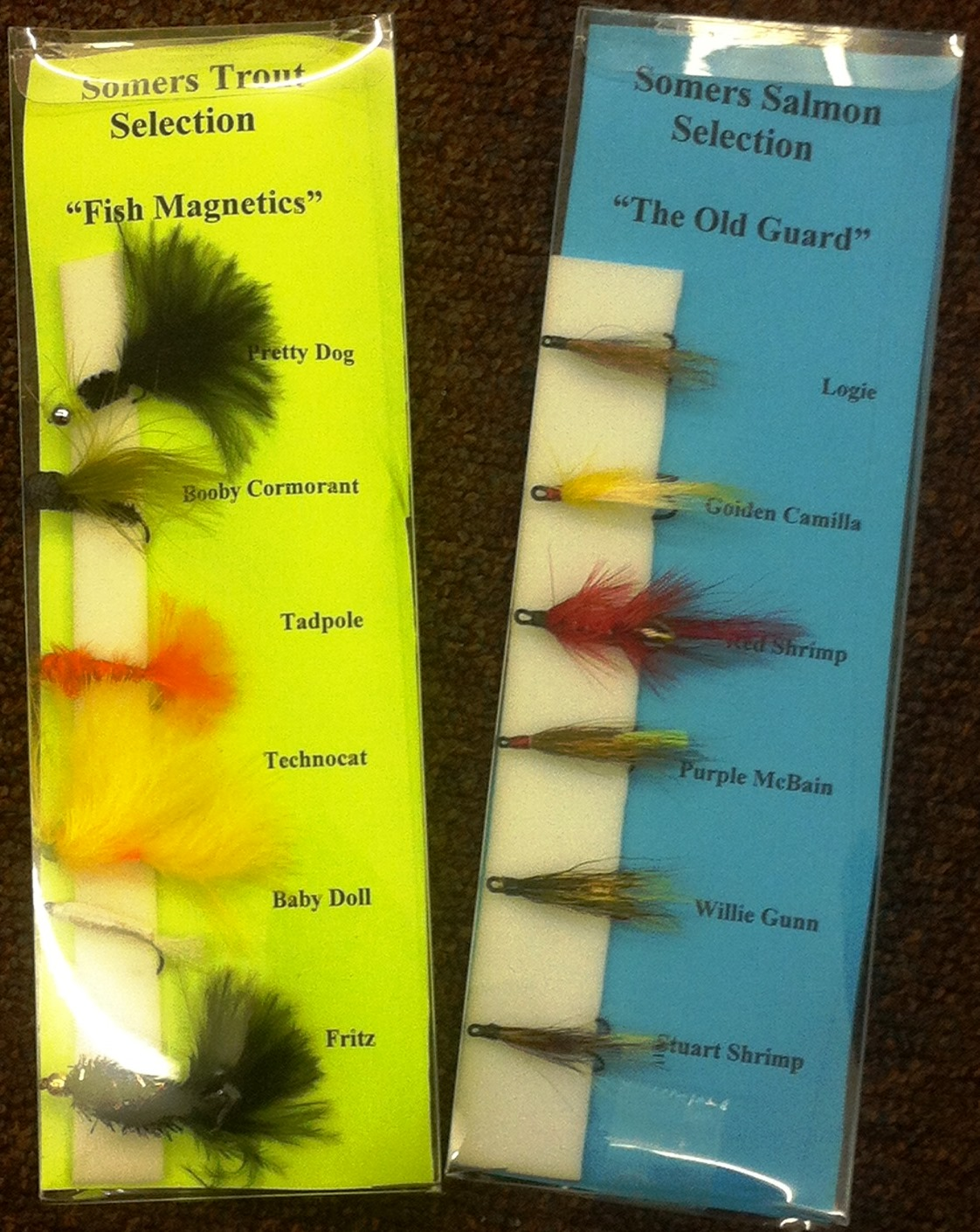 "SFT ""Fish Magnetics\"" Trout Selection"