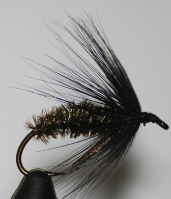Black & Peacock Spider Wet Fly