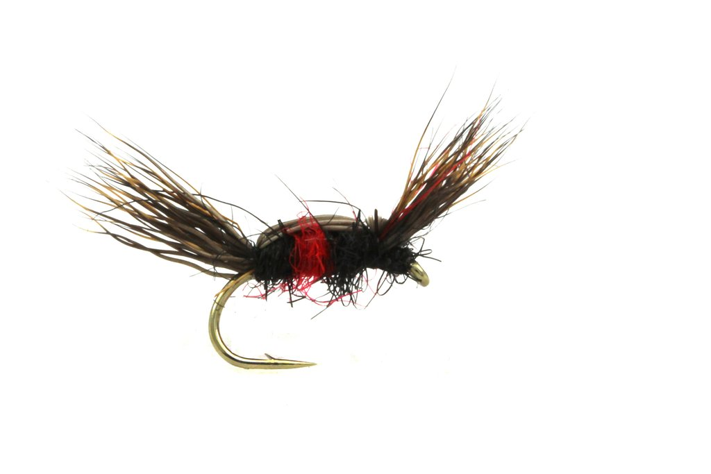Fario Fly Double Humpy Bibio