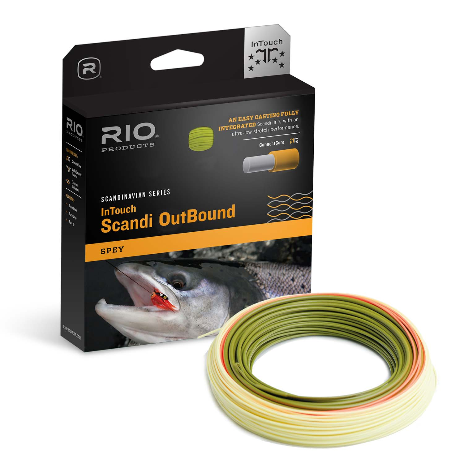 Rio In Touch Scandi Outbound Spey Fly Line