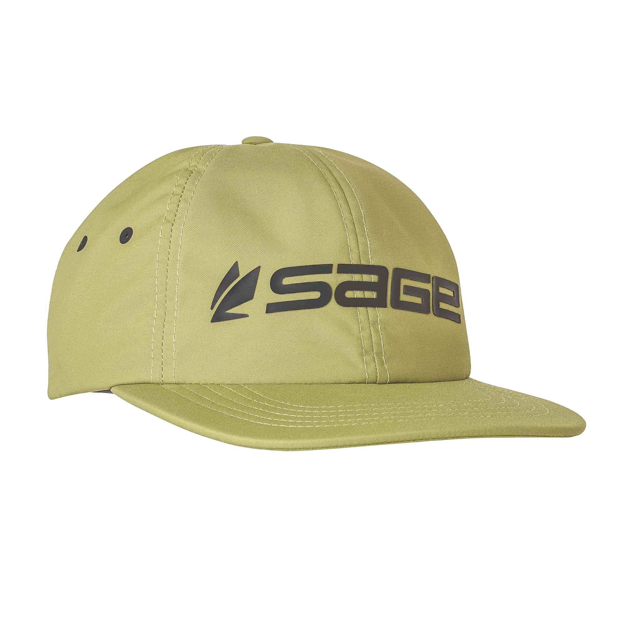 Sage Relaxed Nylon Hat Green