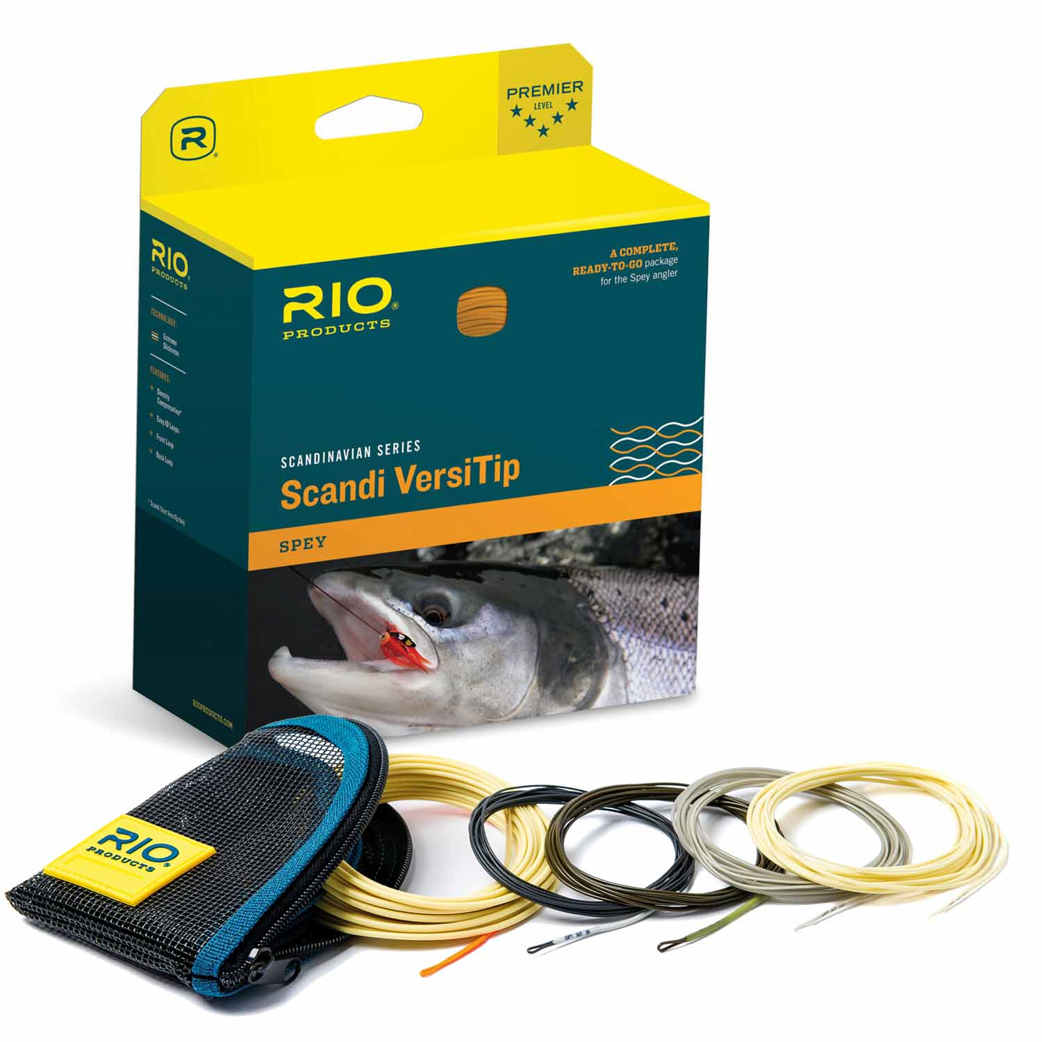 Rio Scandi Short Versi Tip Kit