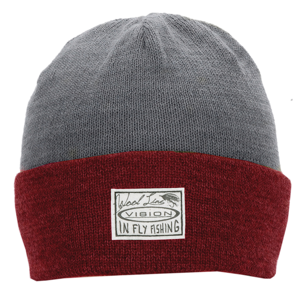 Vision Willa Beanie Red / Grey