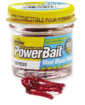 Berkley PowerBait Blood Worm