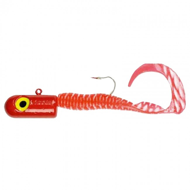 Curl Tailed Bullet Heads 10oz Lure