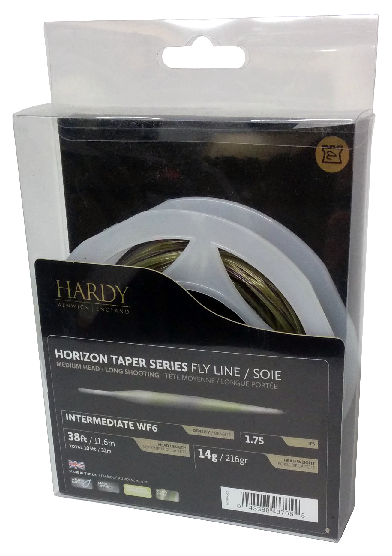 Hardy Horizon Taper Intermediate Series Fly Line
