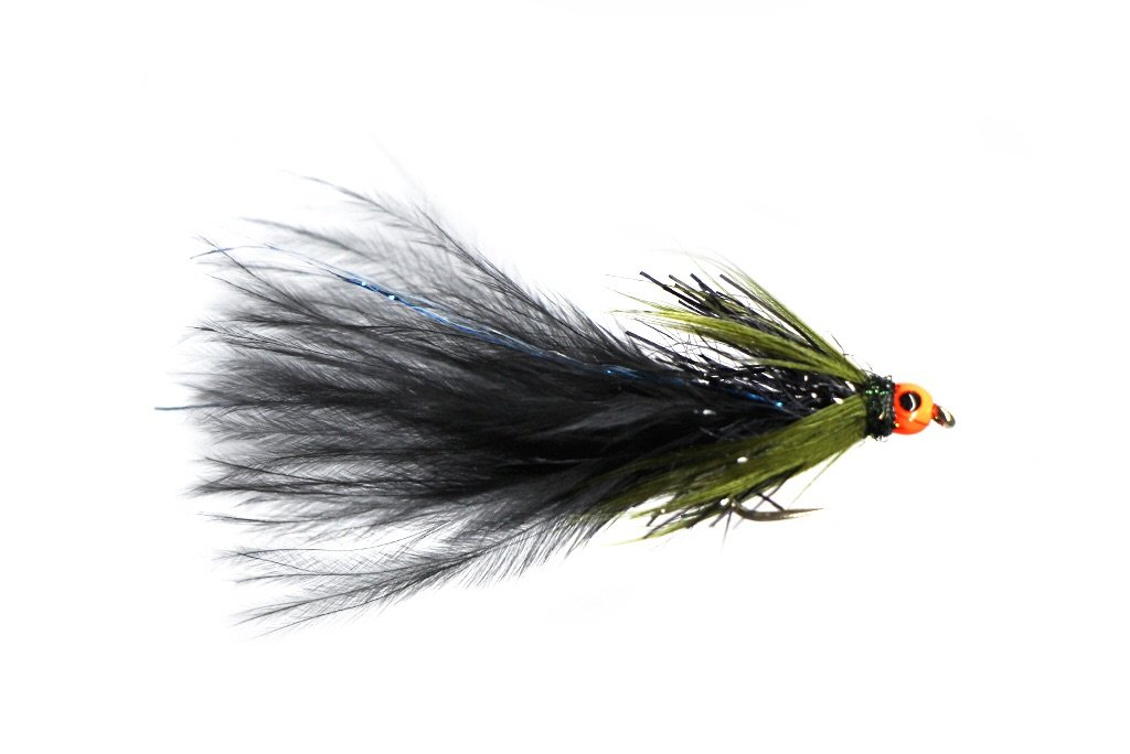 Fario Fly Hot Head Black Blue Flash Damsel