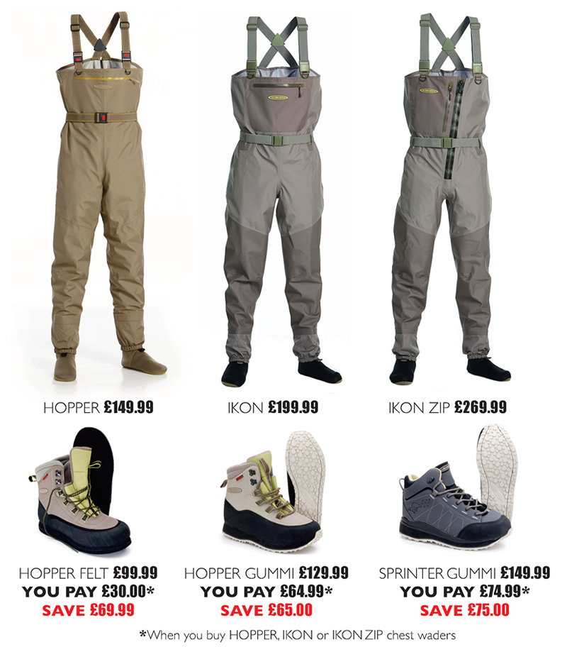 Vision IKON 2.0 Zip Stockingfoot Wader