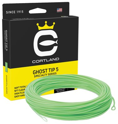Cortland Precision Ghost Tip Intermediate Floating Fly Line 5ft