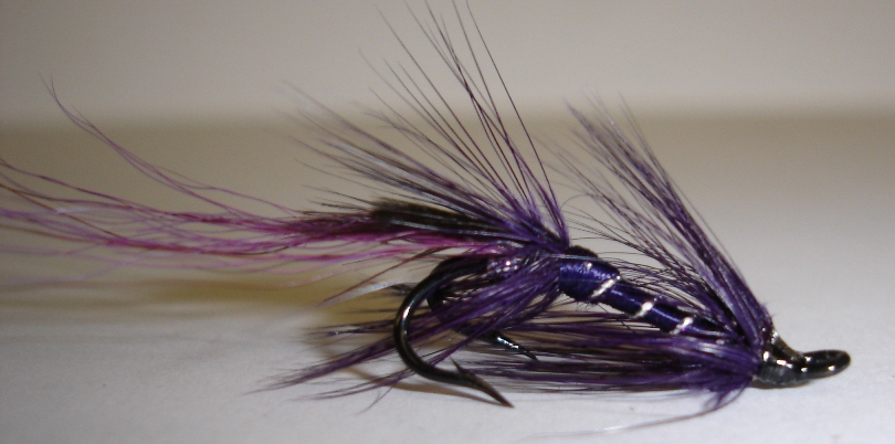 Purple Shrimp 1Dozen Treble