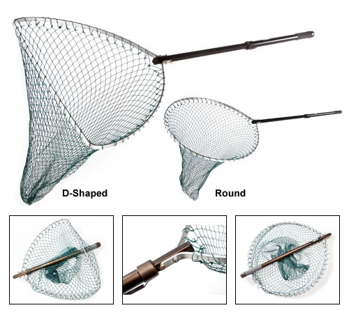 McLean Bronze Series Folding Head Telescopic Handle Net