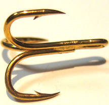 Salar Tube Treble Gold