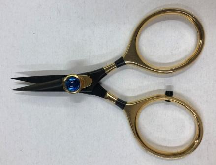 Sharp Edge Scissors Black & Gold