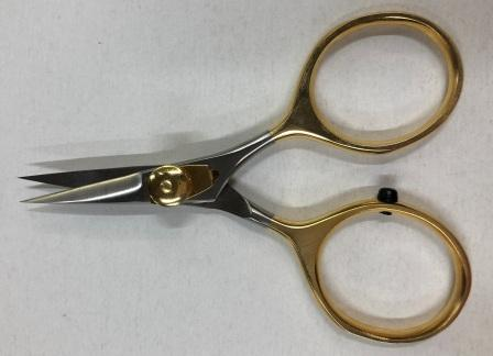 Sharp Edge Scissors Gold