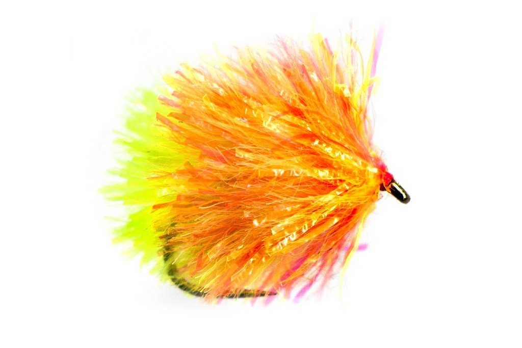 Fario Fly Neon Sunburst and Chartruese