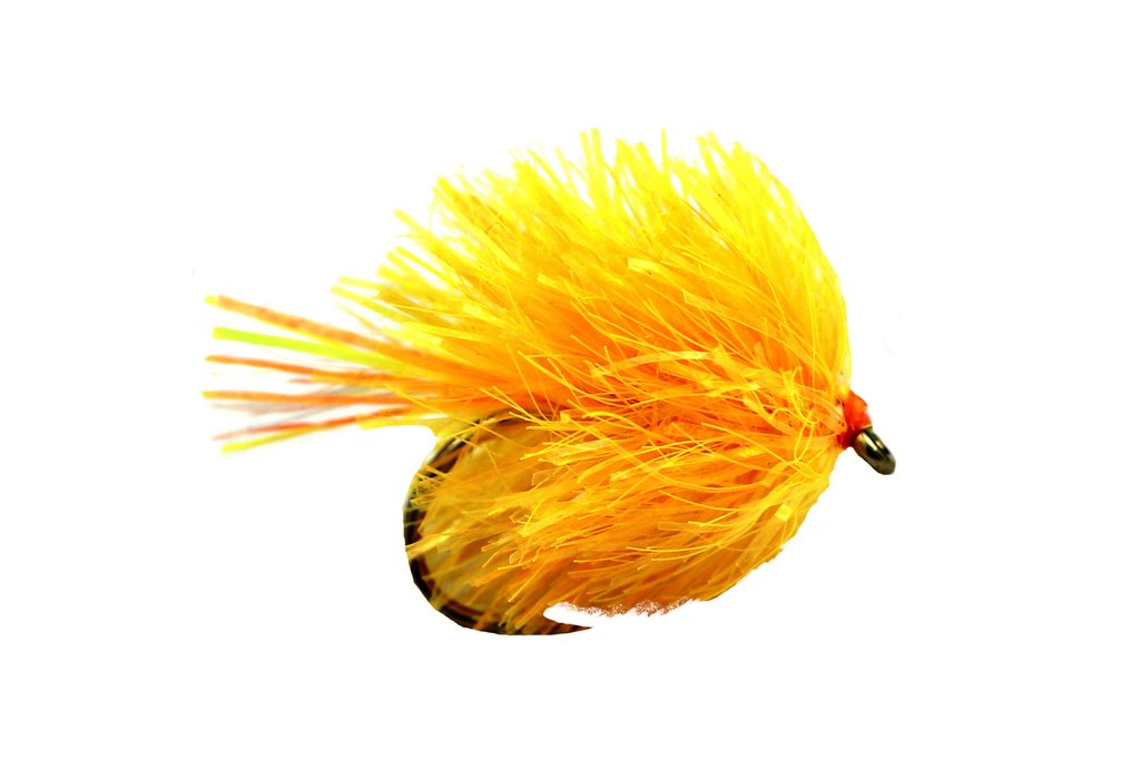 Fario Fly Sunburst Orange Super Blob