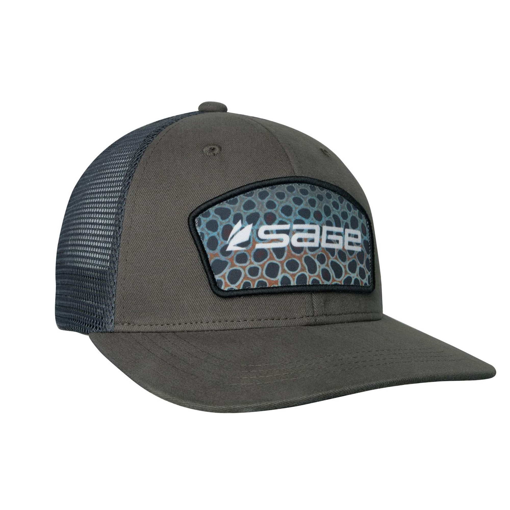 Sage Patch Trucker Cap