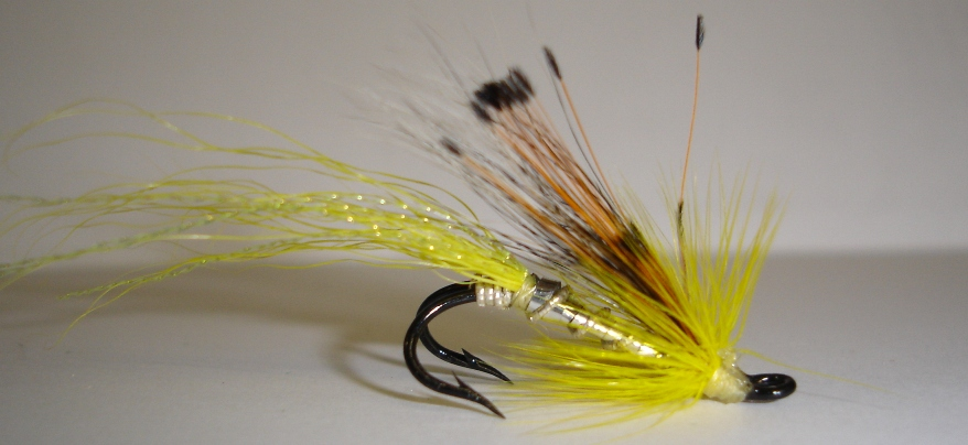Twinkle Yellow Allys Shrimp 1Dozen Treble
