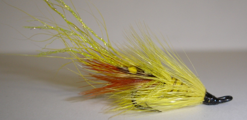 Twinkle Yellow Shrimp 1Dozen Treble