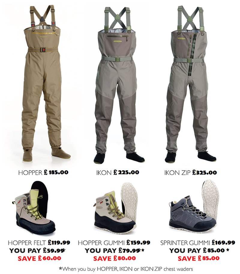 Vision Hopper Stockingfoot Waders