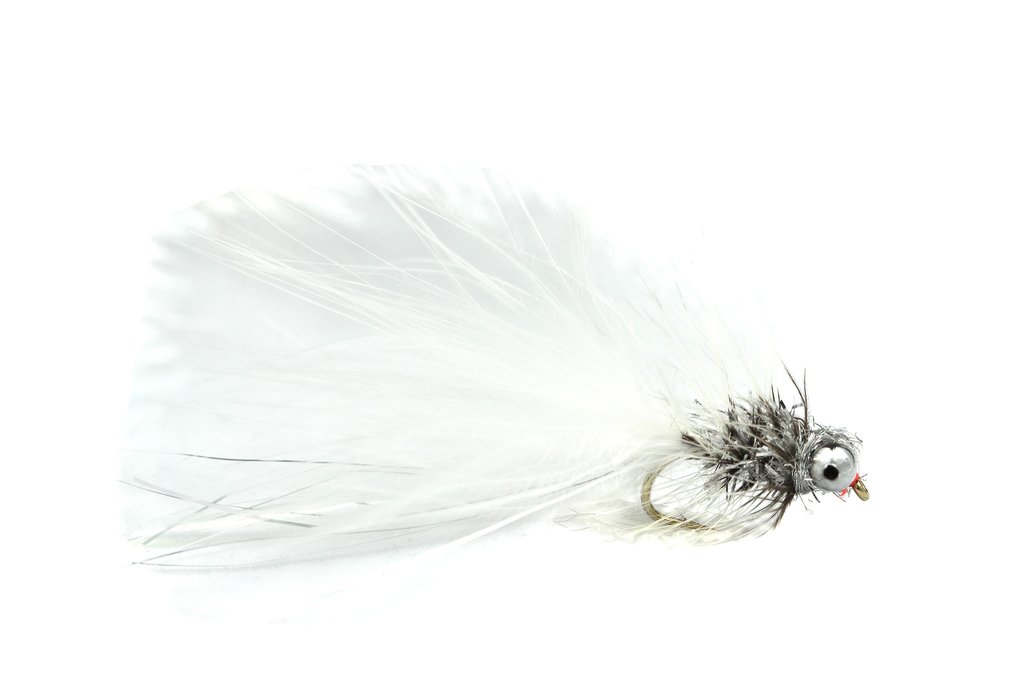 Fario Fly White And Silver Humungus